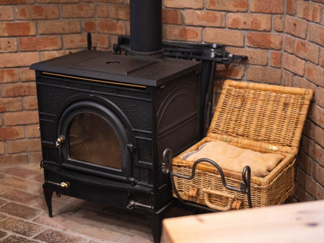 エピュイ・レ・シェーズにある暖炉